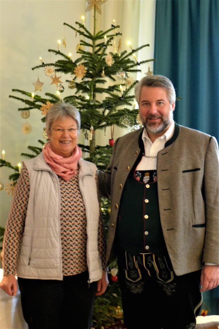 Schirmherr Dieter Fischer Wenn Ich Helfen Kann Bin Ich Da Hospizverein Im Pfaffenwinkel E V